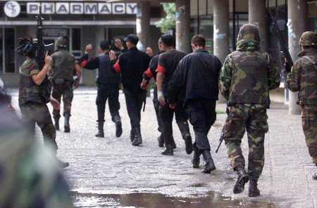 Italian KFOR has arrested several Albanians for criminal activity