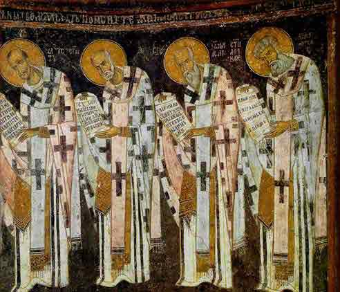 the holy apostles  13th c