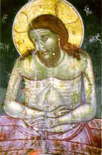 The fresco of the Lord