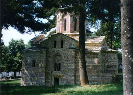 The church in Musutiste before destruction