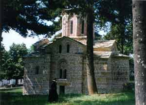 Holy Virgin Church in Musutiste, 1315