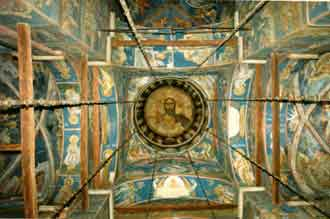 The frescoes of the dome