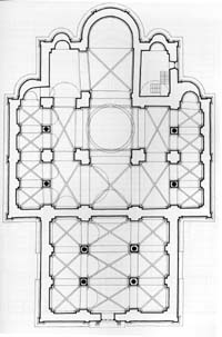 The plan of the church