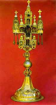 The cross of Emperor Dusan