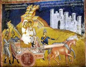 Apostle Philip and the Ethiopian eunuch