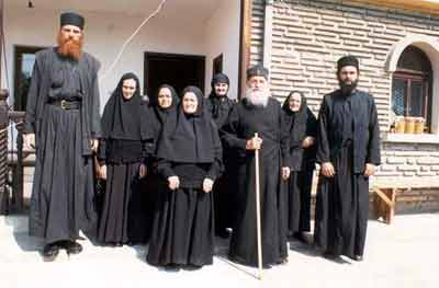 Gorioc sisters and Fr. Sava