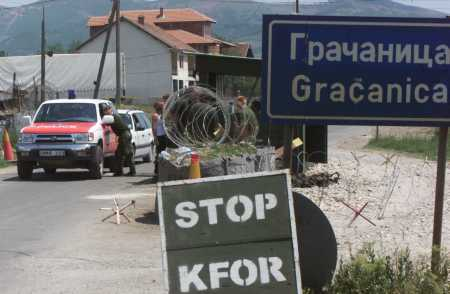 Kosovo Serb Enclaves in Barbed Wire