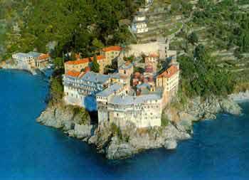 Grigoriou Monastery, Athos