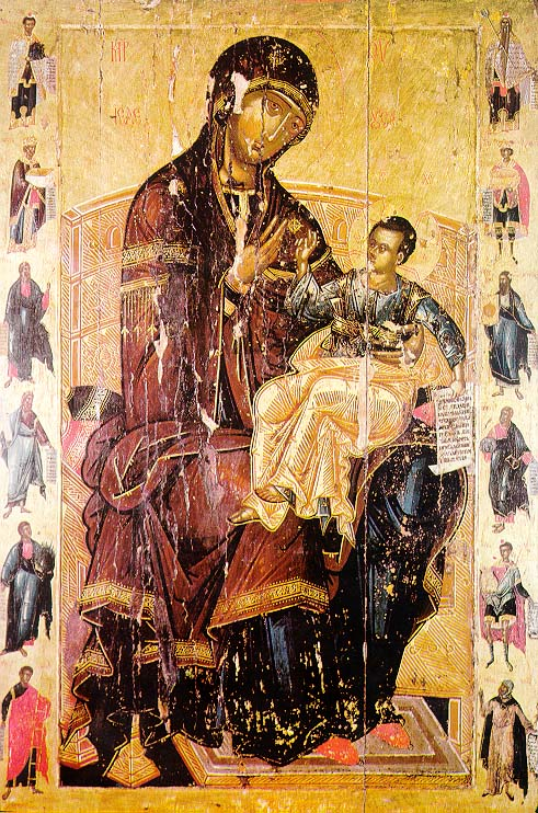 God's Mother, Decani 16 century