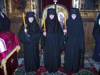 Three neww nuns of Gracanica