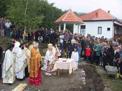 Consecration of the groundwork for new konak