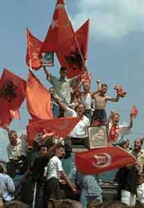 Triumph of Albanians and Turks in Prizren