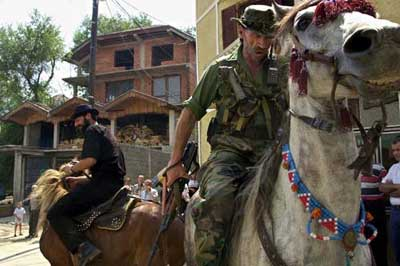 Albanian extremists riding again - Maceodonia