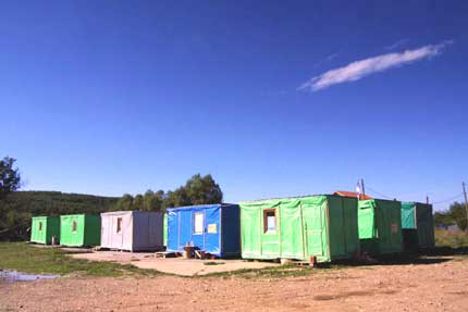 Containers in Osojane