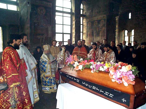 Новомученик Харитон Архангелски Panihida