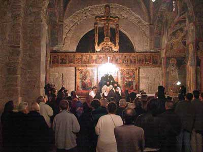 The Vigil in the Holy Apostles Church
