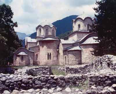 The Monastery in Pec
