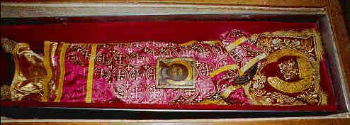 Relics of King Stefan of Decani