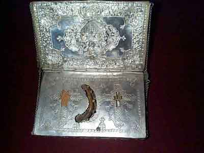 The relics of St. Gregory of Nyssa, 4 th century