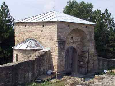 The surviving chapel of St. George