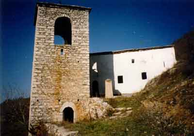 The Monastery Church Before the Destruction