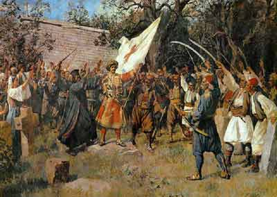 Serb rebellion against Ottomans