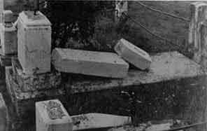 Desecrated Orthodox Graveyard 1987