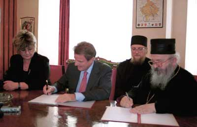signing of the UNMIK-SNC agreement